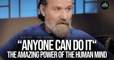 """Anyone Can Do It!"" WIM HOF Explains The CRAZY POWER Of The Human Mind!"