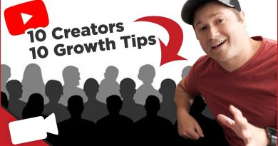 10 Growth Tips from 10 Growing YouTube Creators