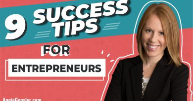 9 Success Tips for Entrepreneurs