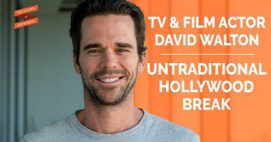 Actor David Walton's Unique Break into The Industry untraditional