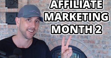 Affiliate Marketing Website Research - Month 2 Of The Affiliate Marketing Case Study