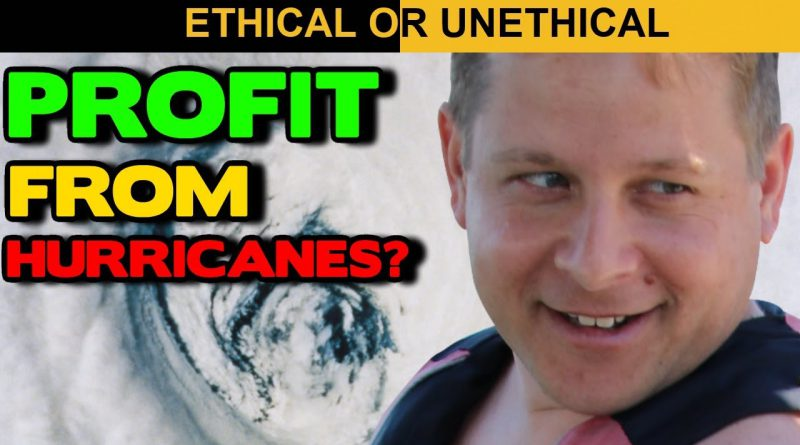 Are People Making Money Off Hurricane Dorian? - Ethical And Unethical Ways To Make Money From News