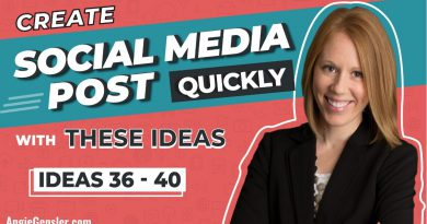 Create Social Media Posts Quickly With These Content Ideas [Ideas 36 - 40]