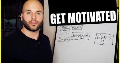 HOW TO BE MOTIVATED: FIND MOTIVATION TO GET SH*T DONE!