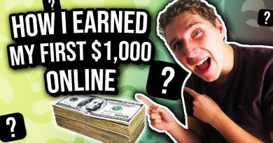 How I Earned My First $1000 Online 💰 (Make Money Online)