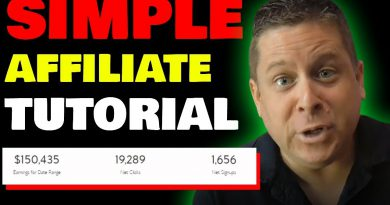 How To Start Affiliate Marketing Right Now - Super Simple Tutorial To Make Money Online