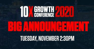 Huge Announcement for 10X Growthcon 2020