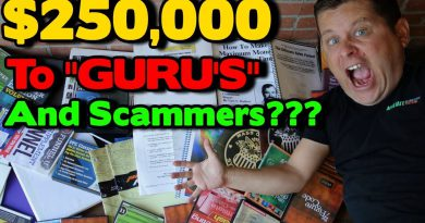 "I Spent Over $250,000 On Make Money Online ""Guru"" Courses And Internet Money Scams?"
