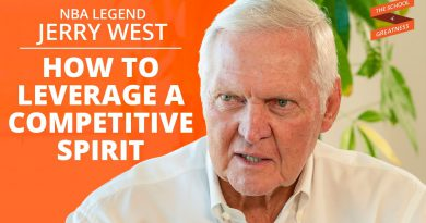 Leveraging A Competitive Spirit And Becoming An NBA Icon with Jerry West and Lewis Howes