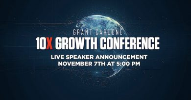 Live Speaker Announcement for the 10X Growth Conference