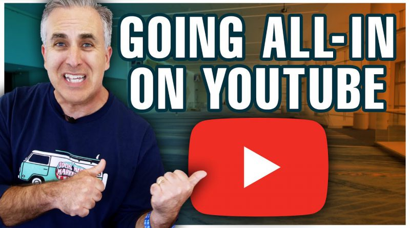 The Journey to Going All-in on YouTube