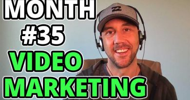 Video Marketing Month 35 Update - Track My YouTube Marketing Growth & Content Marketing Results Here