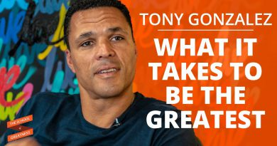 What It Takes To Be The Greatest with Tony Gonzalez and Lewis Howes