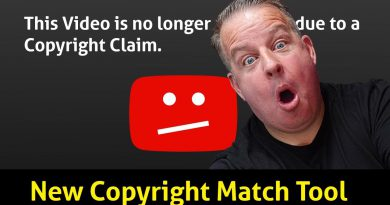 YouTube's New Copyright Match Tool