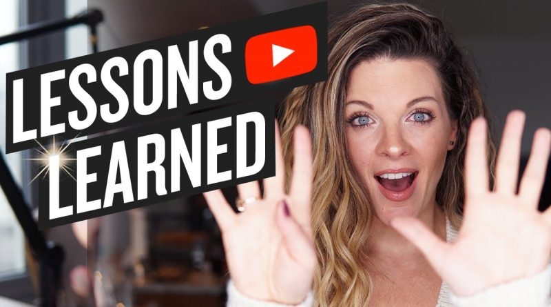 9 LESSONS I LEARNED ABOUT SUCCEEDING ON YOUTUBE THIS YEAR