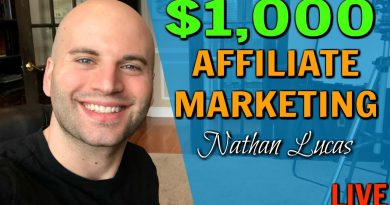 Affiliate Marketing 2020: Earn Your FIRST $1,000 In Commissions