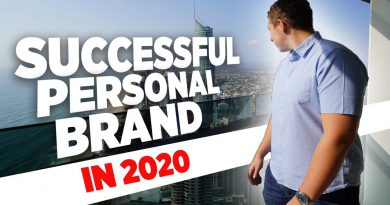 BUILD YOUR PERSONAL BRAND IN 2020 (3 Simple Steps)