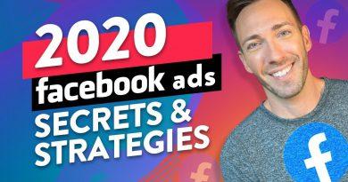 Facebook Ads in 2020: My Latest, Greatest Secret Strategies!