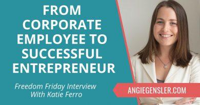 Freedom Friday Interview with Katie Ferro ~ November 30, 2018