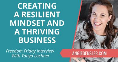 Freedom Friday Interview with Tanya Lochner ~ November 9, 2018