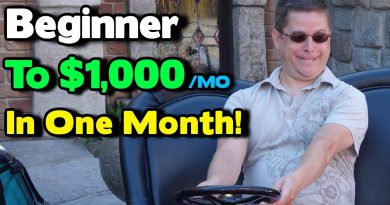 Go From Beginner To $1,000 A Month - In One Month - What I Would Do?...