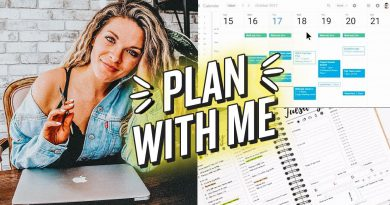 HOW I PLAN MY WEEK & TIME BLOCK TO GET EVERYTHING DONE!