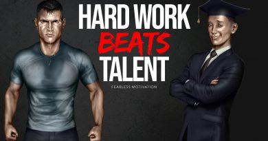 Hard Work Beats Talent When Talent Doesn't Work Hard (Motivational Video)