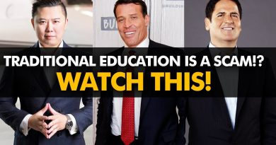 How TRADITIONAL EDUCATION STOPS You From Getting RICH! | #BelieveLife