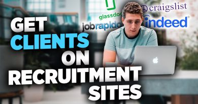 How To Get Clients EASILY Using Recruitment Websites! (Social Media Marketing Agency - SMMA)