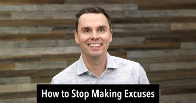 How To Stop Making Excuses