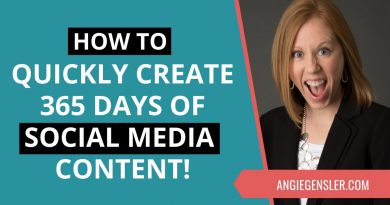 How to Quickly Create an Entire Year's Worth of Social Media Content