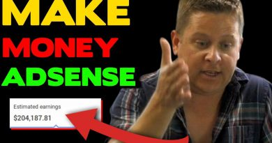 Make Money With Adsense - FULL Tutorial