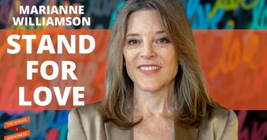 Marianne Williamson: Stand For Love with Lewis Howes