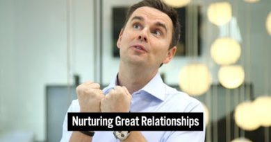 Nurturing Great Relationships