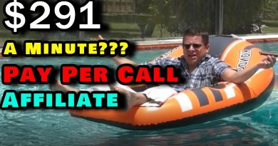 Pay Per Call Affiliate Marketing - Get Paid HUGE + The Worst Rap Video Ever LOL