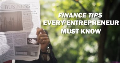 Personal Finance For Entrepreneurs - Finance Tips For Internet Entrepreneurs