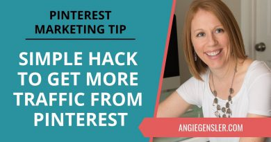 Pinterest Marketing Tip #26 - Simple Hack to Get More Traffic From Pinterest