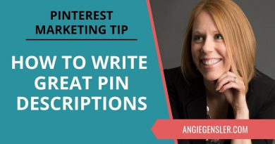 Pinterest Marketing Tip #27 - How to Write Pinterest Pin Descriptions That Reach Your Ideal Customer