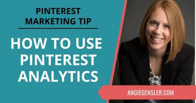 Pinterest Marketing Tip #32 - How to Use Pinterest Analytics Strategically