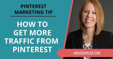 Pinterest Marketing Tip #34 - How to Get More Traffic From Pinterest