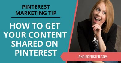 Pinterest Marketing Tip #35 - How to Get Your Content Shared on Pinterest by More People