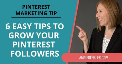 Pinterest Marketing Tip #36 - Six Ideas to Help You Grow Your Followers on Pinterest