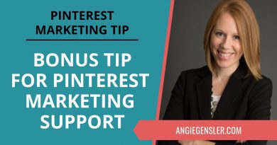 Pinterest Marketing Tip #38 - BONUS: How to Get More Pinterest Marketing Guidance and Support