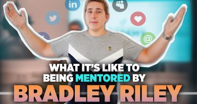 What Is It Like Being Mentored By Bradley Riley? (Student's Perspective)