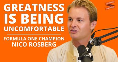 You Grow Most When You Push Yourself Into The Discomfort | Nico Rosberg and Lewis Howes