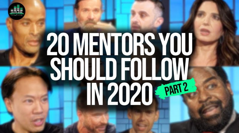 20 Mentors You Must Follow This Year! (PART 2 - THE MASTERS)