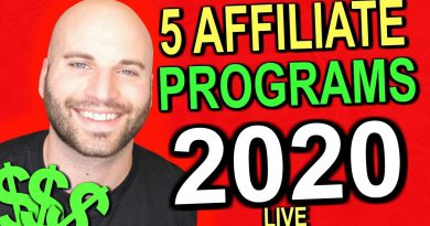 5 Affiliate Programs To Start In 2020