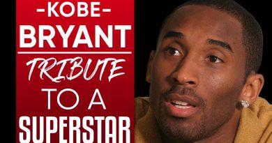 A TRIBUTE TO NBA LEGEND KOBE BRYANT: Highlights Of The Black Mamba   London Real #RIPLegend
