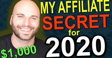 Affiliate Marketing In 2020: How I Earn $1,000 PER DAY