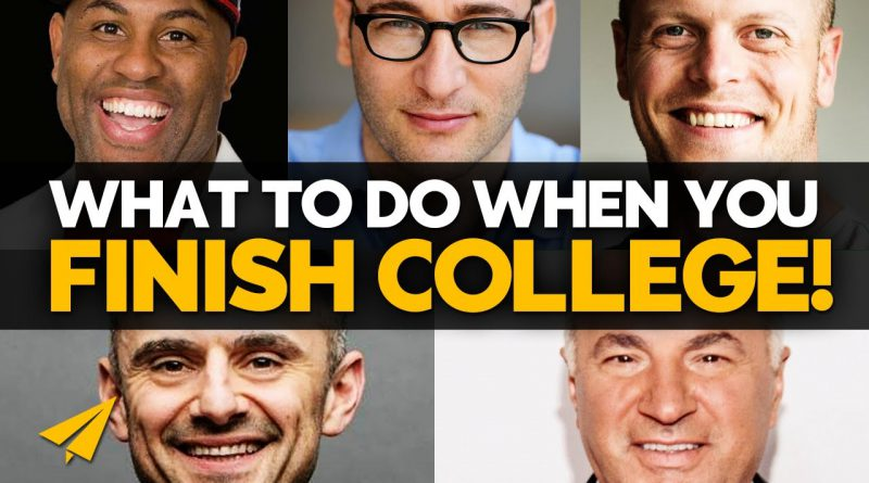 Best ADVICE for COLLEGE GRADUATES! (Or ANY YOUNG Person) | #BelieveLife